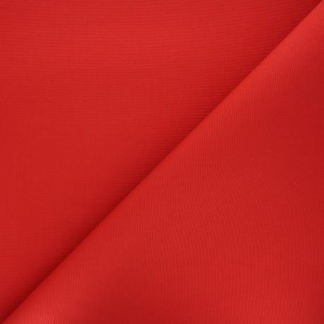 Tissu toile plein air Dralon® Sunny - rouge x 10cm