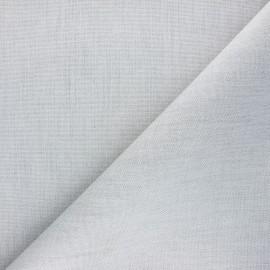 Tissu toile extérieur enduit Dralon® Sunny - gris chiné x 10cm