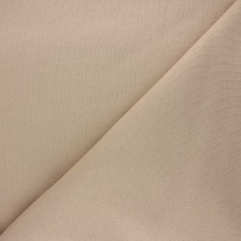 Tissu Mind the Maker sweat bio Basic - sable x 10 cm
