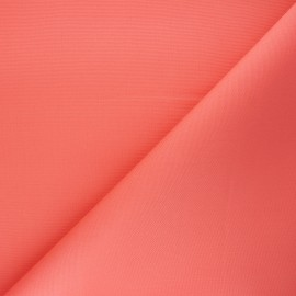 Dralon® coated outdoor canvas fabric - coral Sunny x 10cm