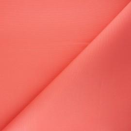 Tissu toile extérieur enduit Dralon® Sunny - corail x 10cm