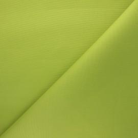 Tissu toile extérieur enduit Dralon® Sunny - vert pomme x 10cm