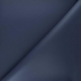 Simili cuir haute qualité - bleu marine x 10cm