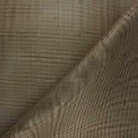 Perforated outdoor canvas fabric - gold Oxa x 10cm