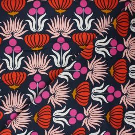 Tissu velours milleraies Cloud9 A walk remembered - Native flowers x 10cm
