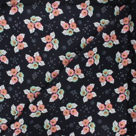 Tissu coton Cloud9 Tropical garden - Monsoon bloom x 10 cm