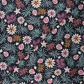 Cloud 9 cotton fabric - Tropical garden - Tropical x 10 cm