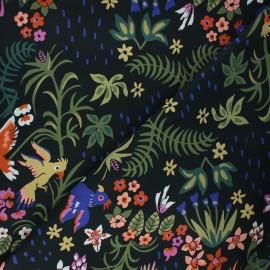 Cloud 9 cotton fabric - Garden of Eden - Exuberant cockatoos x 10 cm