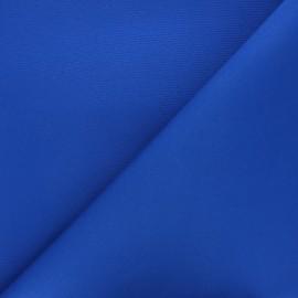 Tissu toile extérieur étanche - bleu roi x 10cm