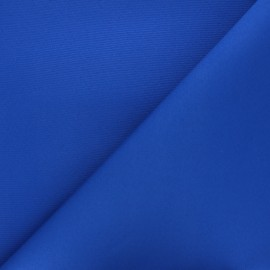 Waterproof outdoor canvas fabric - royal blue x 10cm