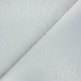 Tissu toile extérieur étanche - gris clair x 10cm