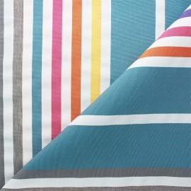 Outdoor canvas fabric - blue Summer x 10cm