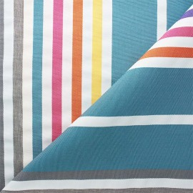 Tissu toile extérieur Summer - bleu x 10cm