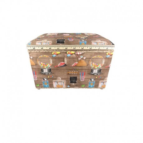 Large size sewing box - Candy