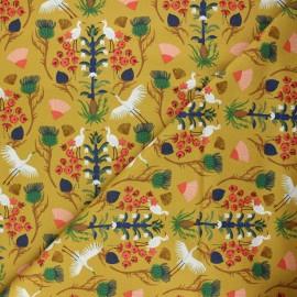 Tissu coton Cloud9 Dragons & lanterns - Floral flight x 10 cm