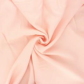 Plain viscose crepe fabric - nude x 10cm