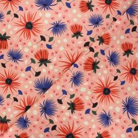 Tissu coton Cloud9 Dragons & lanterns - Dahlia blush x 10 cm