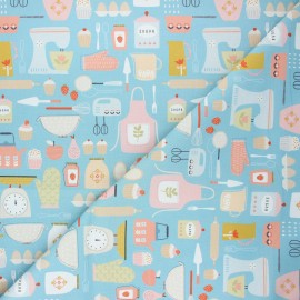 Cotton Dashwood Studio fabric - Baking Hobbies x 10cm