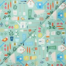 Tissu coton Dashwood Studio Hobbies - Gardening x 10cm