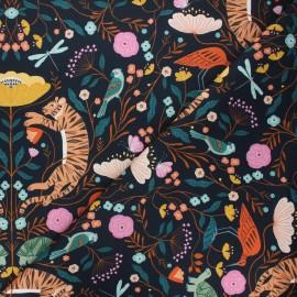 Cotton Dashwood Studio fabric - Jungle life Our planet x 10cm