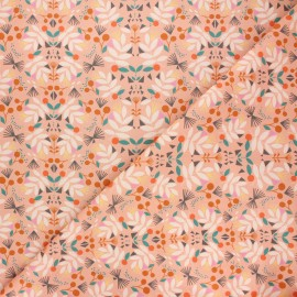Cotton Dashwood Studio fabric - Delicacy Our planet x 10cm