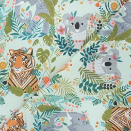 Cotton Dashwood Studio fabric - opaline Harmony Our planet x 10cm