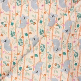 Cotton Dashwood Studio fabric - Sweet koala Our planet x 10cm