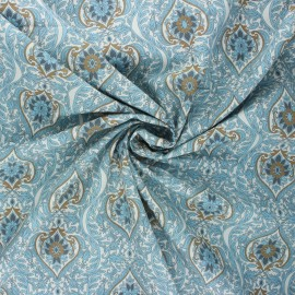 Tissu popeline de coton Silvia - blanc x 10cm