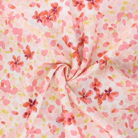 AGF Rayon fabric - Velvet - Jasmine afresh x 10cm