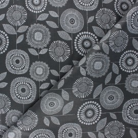 Tissu coton enduit mat Cloud 9 Laminates - Petal print x 10 cm
