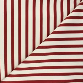 Elastane cotton fabric - red brick Molly x 10cm