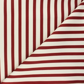 Tissu coton élasthanne Molly - tomette x 10cm
