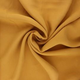 Tissu Tencel uni Rozan - ocre x 10cm
