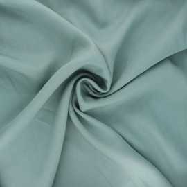 Plain Tencel fabric - sarcelle Rozan x 10cm