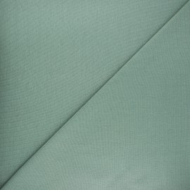 Tubular jersey fabric - sage green Robin x 10cm