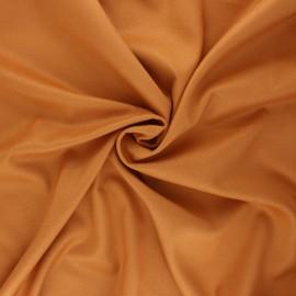 Plain gabardine bamboo fabric - ginger x 10 cm
