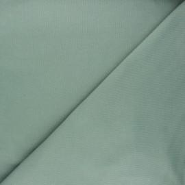 Tissu sweat Vera - vert sauge x 10cm