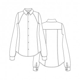 Shirt Sewing Pattern - Lot of Things Salazar