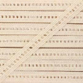 15 mm trimming ribbon - raw Massia x 1m
