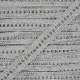 15 mm trimming ribbon - linen Massia x 1m