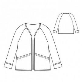 Jacket Sewing Pattern - Scämmit Absolu
