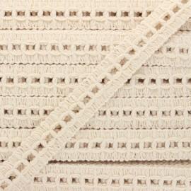 20 mm trimming ribbon - raw Chapas x 1m