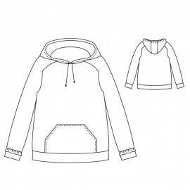 Sweatshirt Sewing Pattern - Scämmit Icône
