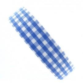 Ruban adhésif Vichy bleu