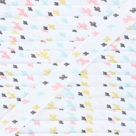 20 mm cotton bias binding - pastel Arioca x 1m