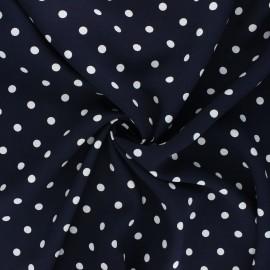 Viscose fabric - night blue Estel x 10cm