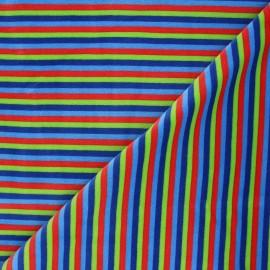Tissu jersey velours éponge Sète - vert x10cm