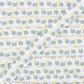 20 mm cotton bias binding - green Algao x 1m