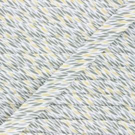 20 mm cotton bias binding - green Badian x 1m