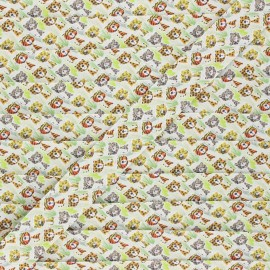 20 mm cotton bias binding - green Elliott et Max x 1m